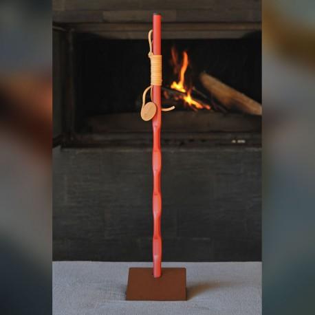 MARTELE - Rouge /Marron (60 cm)