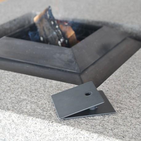 Socle Noir simple