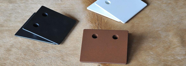 Les 3 modèles de supports accessoires